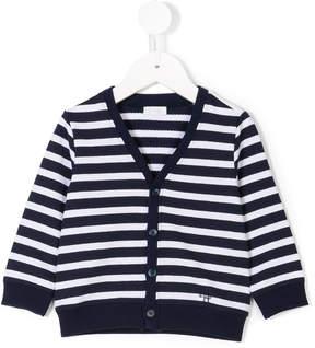 Il Gufo striped buttoned cardigan