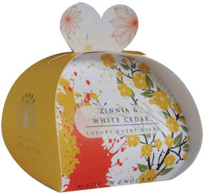 Smallflower Zinnia and White Cedar Guest Soap by The English Soap Company (2oz Soap)
