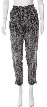Enza Costa High-Rise Skinny Pants