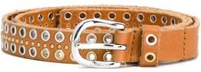 Diesel eyelet buckle belt