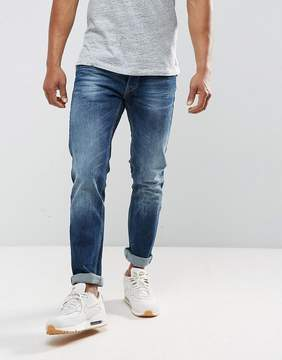 Replay Grover Straight Taper Fit Dark Wash