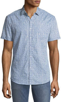 Report Collection Men's Sun-Splash Short-Sleeve Sport Shirt