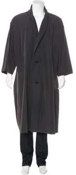 Issey Miyake Woven Lightweight Coat