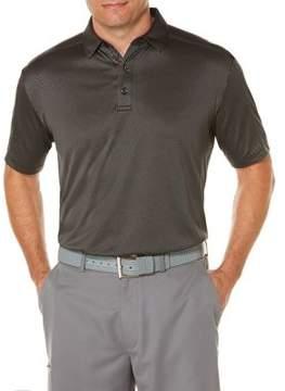 Callaway Short Sleeve Opti Dri Denim Jacquard Polo
