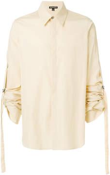 Ann Demeulemeester Blanche gathered sleeves shirt