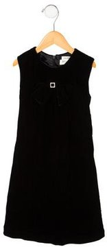 Helena Girls' Jewel-Embellished Velvet Dress w/ Tags