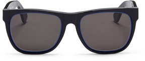 Super 'Classic Impero Blu' D-frame acetate sunglasses