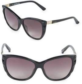 Swarovski 57MM Butterfly Sunglasses
