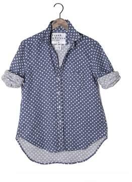 Frank And Eileen Womens Limited Edition Eileen Linen Stars Shirt