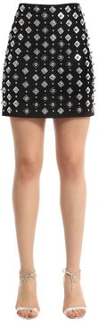 David Koma Embellished Mini Skirt