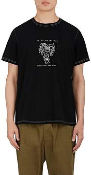 Ovadia & Sons Men's Steven Harrington Dancing-Palm-Tree Cotton T-Shirt
