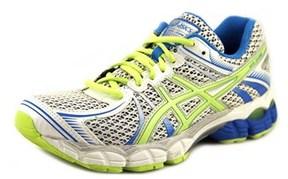 Asics Gel-flux Women Round Toe Synthetic White Running Shoe.