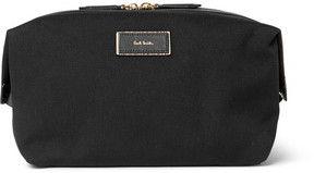 Paul Smith Leather-Trimmed Canvas Wash Bag