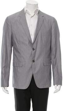 Calvin Klein Collection Pinstripe Two-Button Blazer w/ Tags