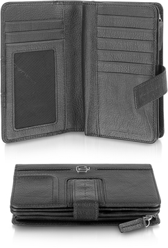 Piquadro Vibe - Leather Flap Wallet