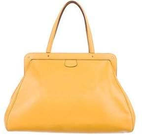Valextra Leather Caju Bag