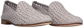 Fratelli Rossetti Pearl Grey Suede Slippers