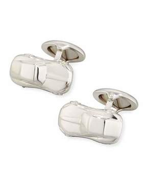 Dunhill Motorites Rhodium-Plated Silver Cuff Links