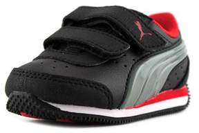 Puma Speed Light-up V Inf Round Toe Leather Sneakers.