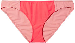 Araks James Bikini Bottom in Confection & Fluoro, X-Small