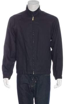 Marc Jacobs Striped Drawstring Jacket