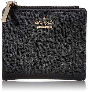 Kate Spade Textured Leather Wallet - BLACK - STYLE