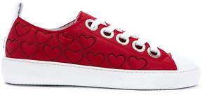 No.21 heart sneakers
