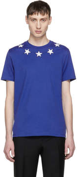 Givenchy Blue and White Stars T-Shirt