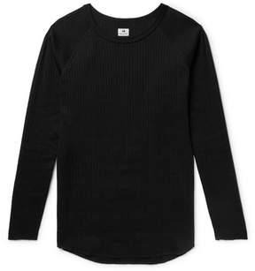SASQUATCHfabrix. Slim-Fit Ribbed Cotton T-Shirt