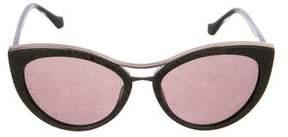 Balenciaga Embellished Cat-Eye Sunglasses