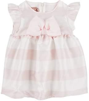 La Stupenderia Infants' Striped Twill Dress & Bloomers Set