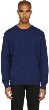 Rag & Bone Blue Cashmere Haldon Sweater