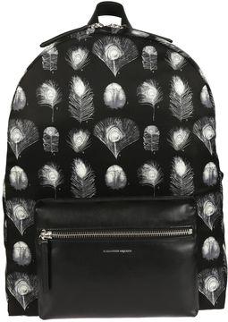 Alexander McQueen Printed Backpack