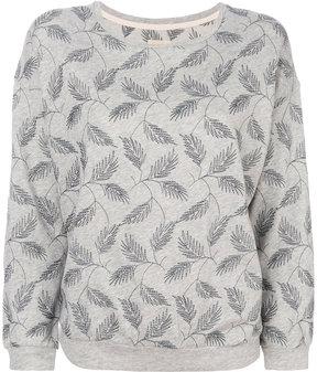 Bellerose leaf embroidered jumper