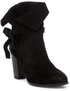 Antelope Bow Suede Convertible Boot