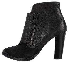 AllSaints Reflection Quilted Ankle Boots