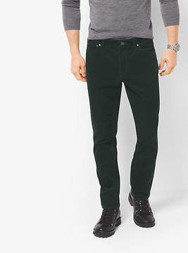 Michael Kors Slim-Fit Corduroy Trousers