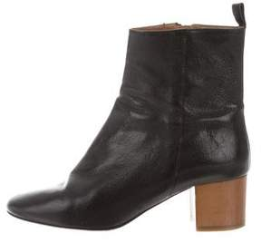 Etoile Isabel Marant Leather Ankle Boots