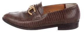Robert Clergerie Clergerie Paris Leather Embossed Loafers
