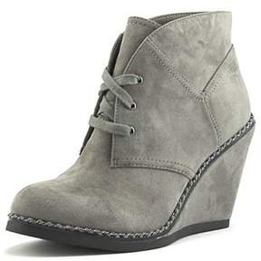 Zigi Womens Karline Closed Toe Ankle Platform Boots.