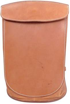 Hermes Leather backpack - BROWN - STYLE