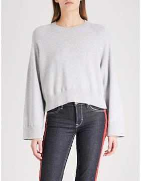 Zadig & Voltaire Lea brushed-cotton jumper