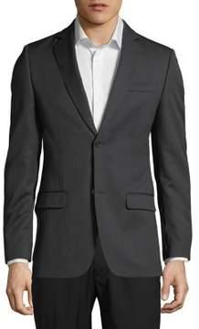 DKNY Solid Wool Blazer