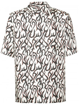 Alexander Wang relaxed hawaiian short sleeve shirt