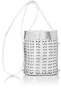 Paco Rabanne Women's 14#01 Mini Chain-Mail Bucket Bag - Argent