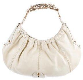 Saint Laurent Mombasa Handle Bag - WHITE - STYLE