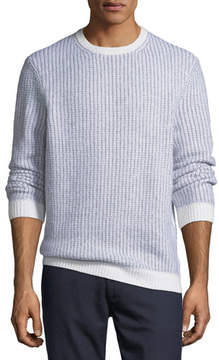 Ermenegildo Zegna Cashmere-Blend Textured-Knit Sweater