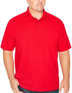 Co THE FOUNDRY SUPPLY The Foundry Big & Tall Supply Quick Dry Short Sleeve Polo Shirt Big and Tall