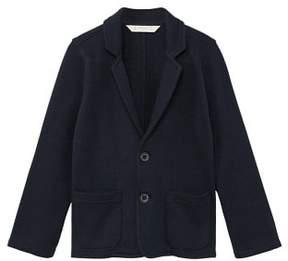 MANGO Textured cotton blazer
