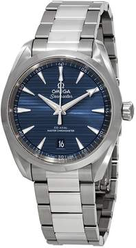 Omega Seamaster Aqua Terra Automatic Blue Dial Men's Watch